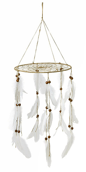 Attrape Rêves Suspension Boho Plumes